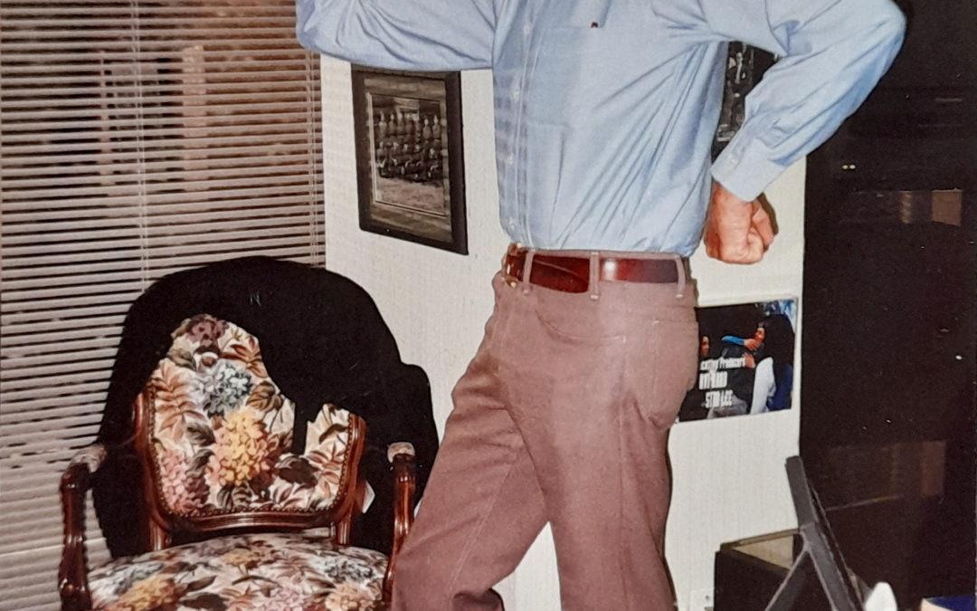 Rarissimo scatto di Stan Lee …